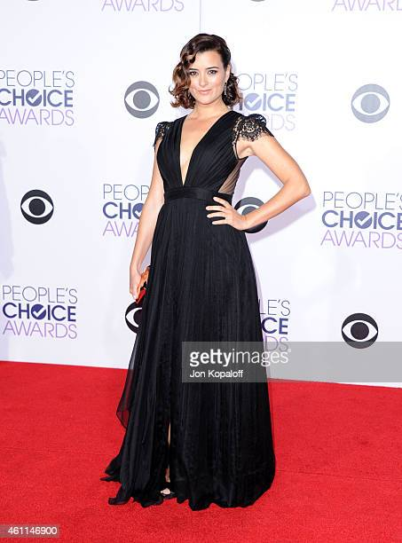 Actress Cote de Pablo attends The 41st Annual People's Choice Awards at Nokia Theatre LA Live on January 7 2015 in Los Angeles California