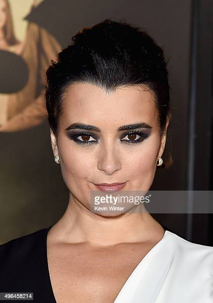 Actress Cote de Pablo attends the Centerpiece Gala Premiere of Alcon Entertainment's The 33 during AFI FEST 2015 presented by Audi at TCL Chinese...
