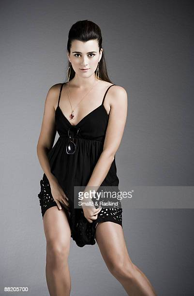 Actress Cote de Pablo poses for a portrait session in West Hollywood CA for BuyHollywoodcom