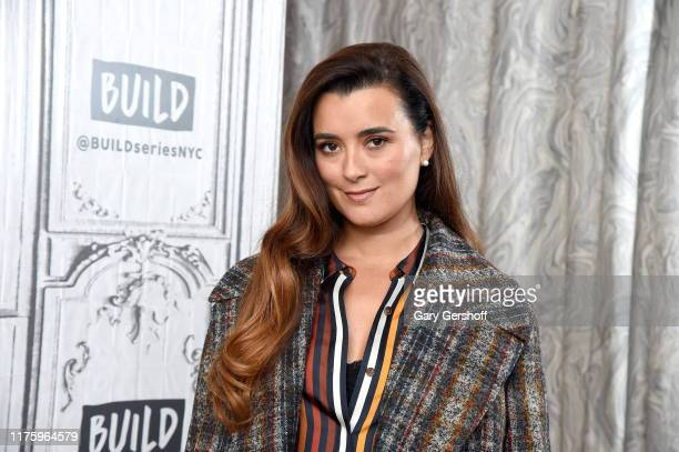 """Actress Cote de Pablo visits the Build Series to discuss the CBS series """"NCIS"""" at Build Studio on September 20 2019 in New York City"""