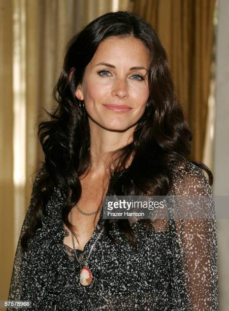 Actress Courteney Cox Arquette arrives at AFI Associates luncheon honoring Hollywood's Arquette family with the 6th Annual Platinum Circle Award held...