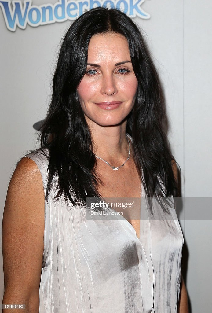 Actress Courteney Cox attends EBMRF & Sony PlayStation's Epic Halloween Bash hosted by James Marsden and Courteney Cox on October 27, 2012 in Los Angeles, California.