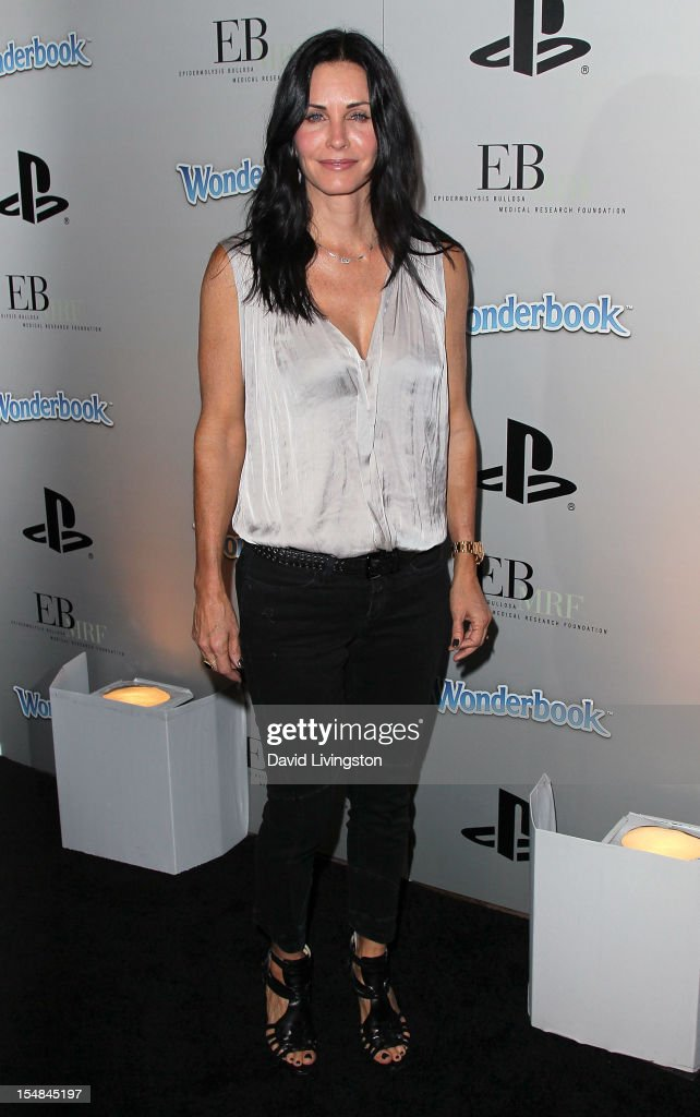 EBMRF & Sony PlayStation's Epic Halloween Bash Hosted By James Marsden And Courteney Cox - Arrivals