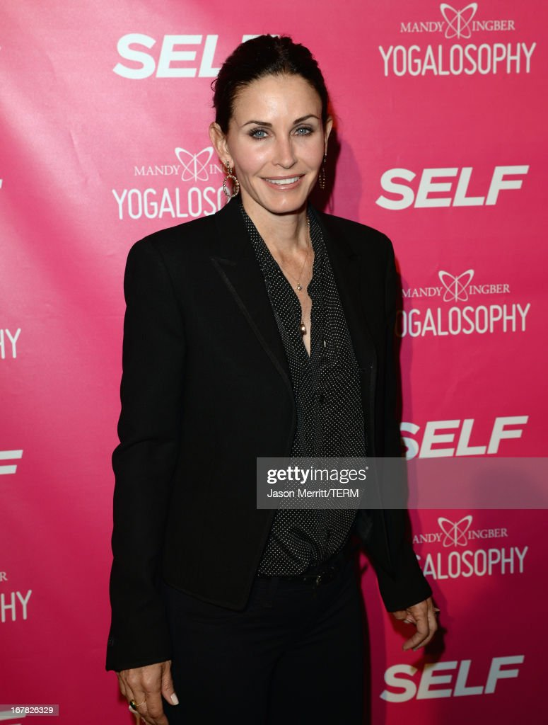 "SELF Magazine And Jennifer Aniston Celebrate Mandy Ingber's New Book ""Yogalosophy: 28 Days To The Ultimate Mind-Body Makeover"" At The Soho House West Hollywood"