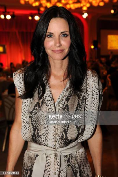 Actress Courteney Cox attends the Critics' Choice Television Awards at Beverly Hills Hotel on June 20 2011 in Beverly Hills California