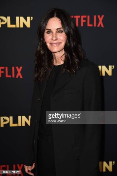 Actress Courteney Cox attends the premiere of Netflix's Dumplin' at TCL Chinese 6 Theatres on December 6 2018 in Hollywood California