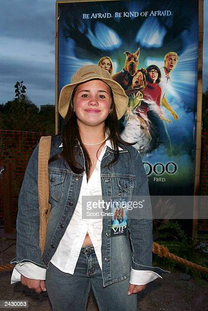 Actress Courtney Chase at the ScoobyDoo DVD Launch Event Escape From Spooky Island on Roosevelt Island in New York City 10/9/02 Photo by Scott...