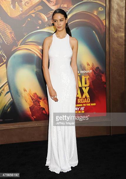 Actress Courtney Eaton arrives at the 'Mad Max Fury Road' Los Angeles Premiere at TCL Chinese Theatre IMAX on May 7 2015 in Hollywood California