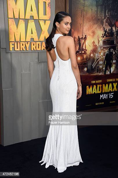 "Actress Courtney Eaton attends the premiere of Warner Bros. Pictures' ""Mad Max: Fury Road"" at TCL Chinese Theatre on May 7, 2015 in Hollywood,..."