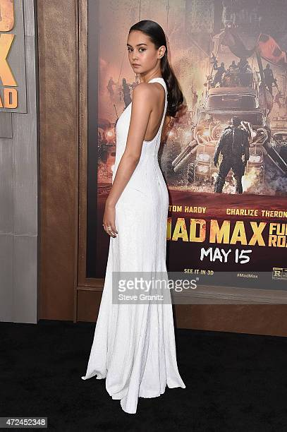 """Actress Courtney Eaton attends the premiere of Warner Bros. Pictures' """"Mad Max: Fury Road"""" at TCL Chinese Theatre on May 7, 2015 in Hollywood,..."""