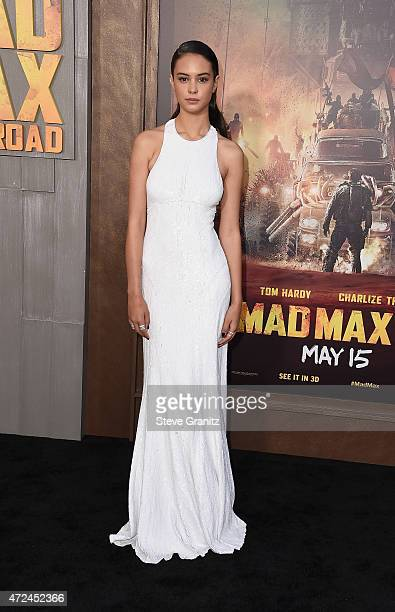 Actress Courtney Eaton attends the premiere of Warner Bros Pictures' Mad Max Fury Road at TCL Chinese Theatre on May 7 2015 in Hollywood California