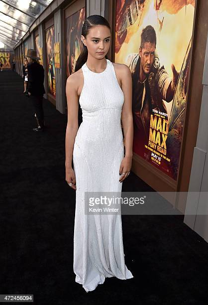 Actress Courtney Eaton attends the premiere of Warner Bros Pictures' 'Mad Max Fury Road' at TCL Chinese Theatre on May 7 2015 in Hollywood California