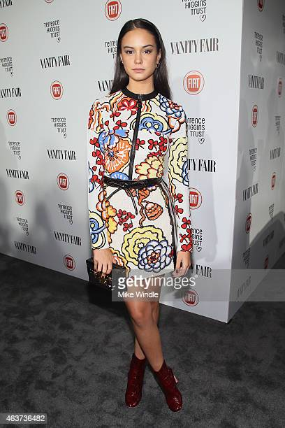 Actress Courtney Eaton attends Vanity Fair and FIAT celebration of Young Hollywood, hosted by Krista Smith and James Corden, to benefit the Terrence...