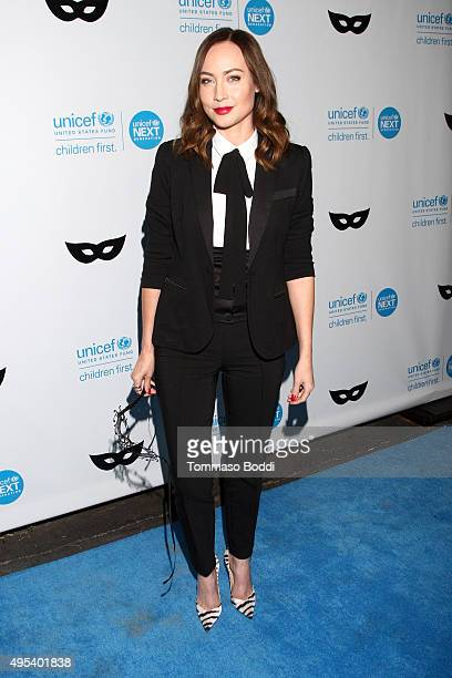 Actress Courtney Ford at the UNICEF Next Generation Third Annual UNICEF Black White Masquerade Ball benefiting UNICEF's lifesaving programs including...