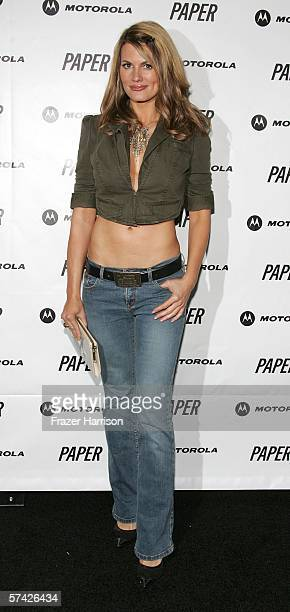 Actress Courtney Hansen arrives at Paper Magazine and Motorola Beautiful People Party West Celebrating PAPER's Ninth Annual Beautiful People Issue...