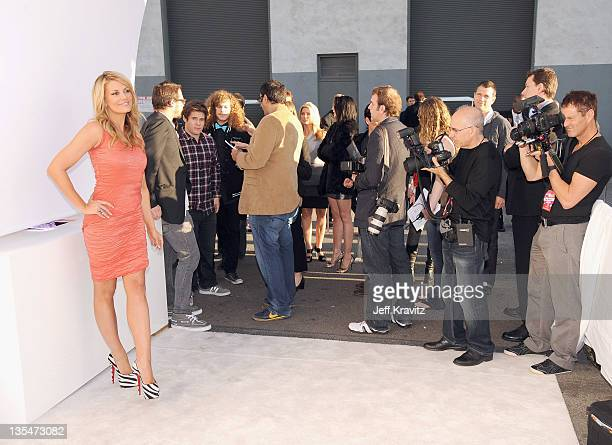 Actress Courtney Hansen arrives at Spike TV's 2011 Video Game Awards at Sony Studios on December 10 2011 in Los Angeles California