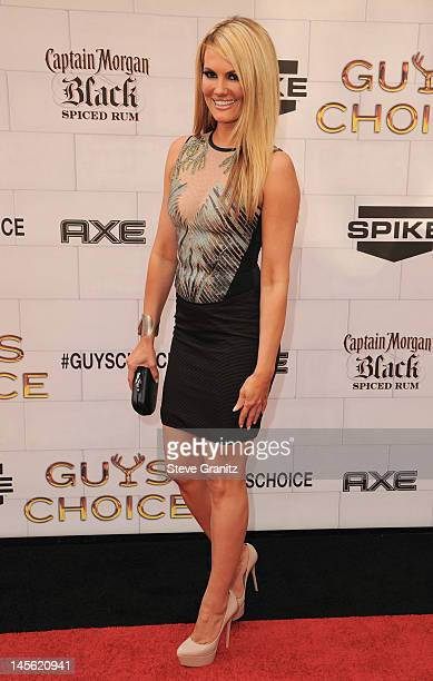 Actress Courtney Hansen arrives at Spike TV's 6th Annual 'Guys Choice' Awards at Sony Studios on June 2 2012 in Los Angeles California