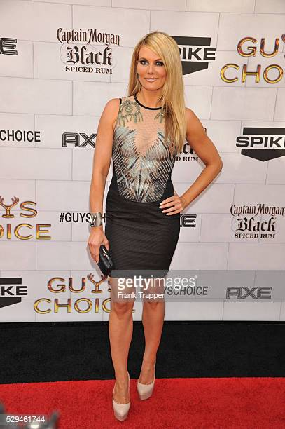 Actress Courtney Hansen arrives at Spike TV's 6th Annual Guy's Choice Awards held at Sony Pictures Studios in Culver City