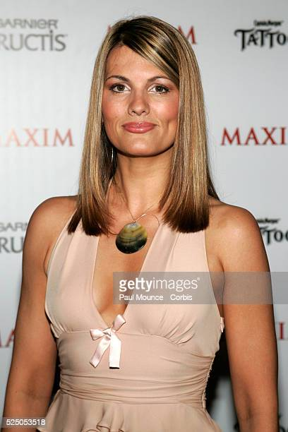 Actress Courtney Hansen arrives at the celebrity party to celebrate the 2005 Maxim 'Hot 100' List