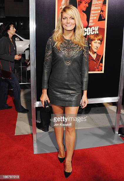 Actress Courtney Hansen arrives at the Los Angeles Premiere 'Hitchcock' at AMPAS Samuel Goldwyn Theater on November 20 2012 in Beverly Hills...