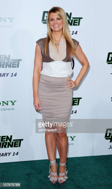 Actress Courtney Hansen arrives at the Los Angeles Premiere 'The Green Hornet' at Grauman's Chinese Theatre on January 10 2011 in Hollywood California