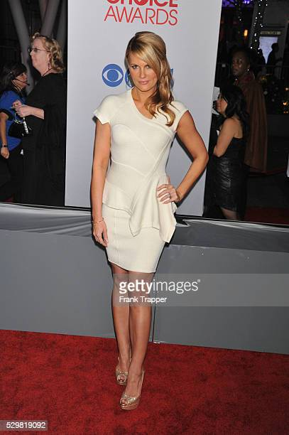 Actress Courtney Hansen arrives at the People's Choice Awards 2012 held at Nokia Theater LA Live in Los Angeles