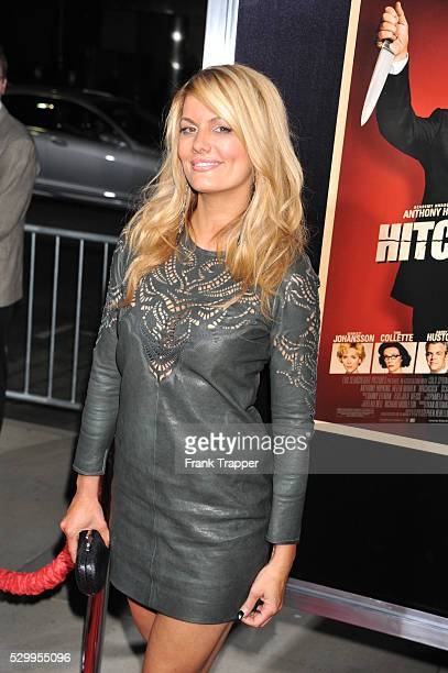 Actress Courtney Hansen arrives at the premiere of Hitchcock held at the Academy of Motion Picture Arts and Sciences in Beverly Hills
