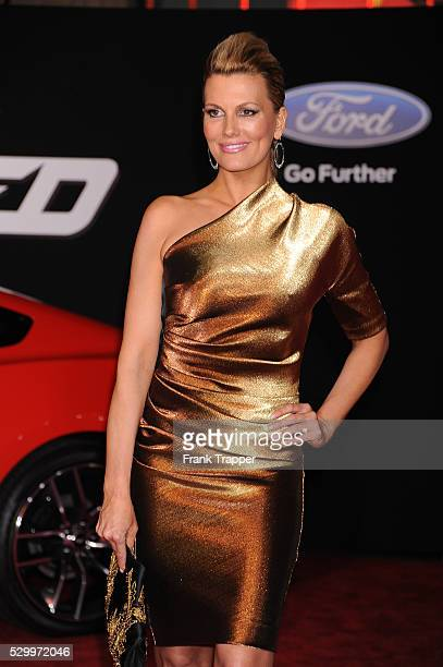 Actress Courtney Hansen arrives at the premiere of 'Need For Speed' held at the TCL Chinese Theater in Hollywood