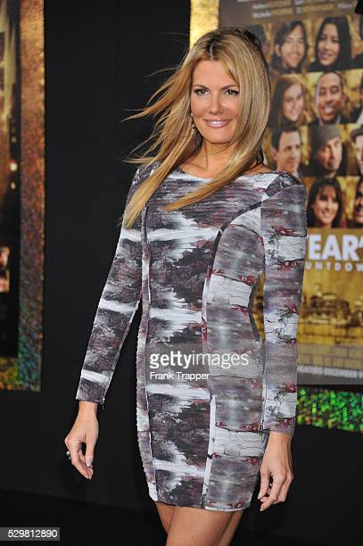 Actress Courtney Hansen arrives at the premiere of 'New Years Eve' held at Grauman's Chinese Theater in Hollywood