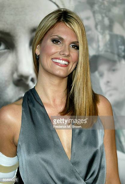 Actress Courtney Hansen arrives at the Warner Brospremiere of 'North Country' held at the Grauman's Chinese Theatre on October 10 2005 in Hollywood...