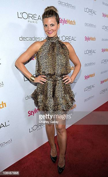 Actress Courtney Hansen arrives to 'A Night Of Red Carpet Style' hosted by People StyleWatch at Decades on January 27, 2011 in Los Angeles,...