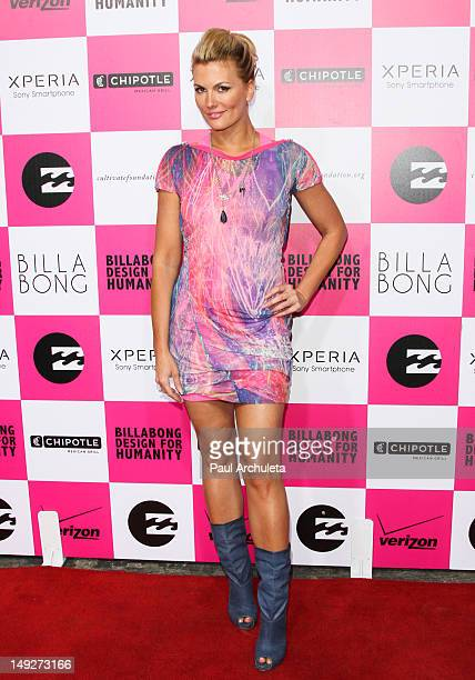 Actress Courtney Hansen attends Billabong's 6th annual 'Design For Humanity' fashion art and music celebration benefiting the Chipotle Cultivate...