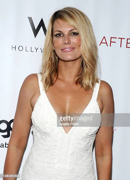 Actress Courtney Hansen attends Logo's AfterEllen AfterElton Inaugural 'Hot 100 Party' at Station Hollywood at W Hollywood Hotel on July 16 2012 in...
