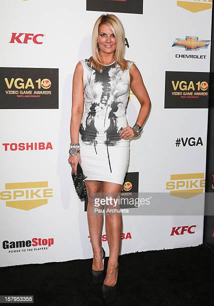 Actress Courtney Hansen attends Spike TV's 10th Annual Video Game Awards at Sony Pictures Studios on December 7 2012 in Culver City California