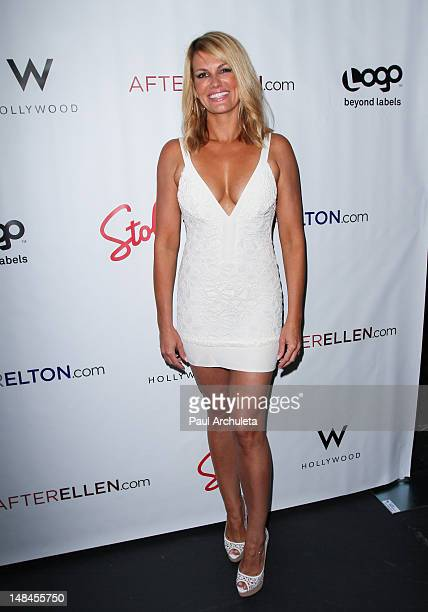 Actress Courtney Hansen attends the Logo's AfterEllen AfterElton inaugural 'Hot 100 Party' at Station Hollywood at W Hollywood Hotel on July 16 2012...