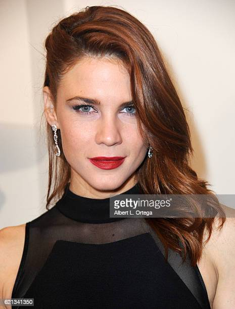 Actress Courtney Hope arrives for MyFaceMyBody Awards held at Montage Beverly Hills on November 5 2016 in Beverly Hills California