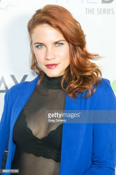Actress Courtney Hope attends the Cast Premiere Screening Of Lany Entertainment's 'The Bay' Season 3 at TCL Chinese Theatre on October 23 2017 in...