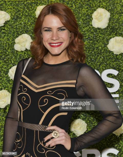 Actress Courtney Hope attends the CBS Daytime Emmy After Party at Pasadena Convention Center on April 29 2018 in Pasadena California