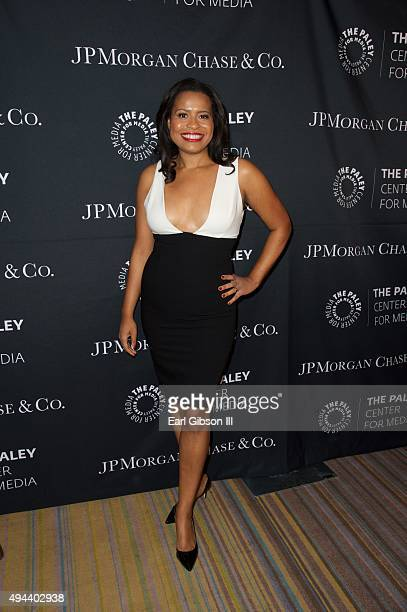 Actress Courtney Kemp Agboh attend The Paley Center For Media's Tribute To African-American Achievements In Television at the Beverly Wilshire Four...
