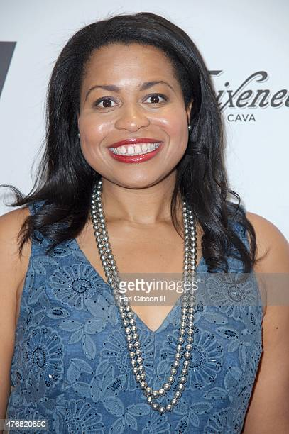 Actress Courtney Kemp Agboh attends TheWrap's 2nd Annual Emmy Party at The London on June 11 2015 in West Hollywood California