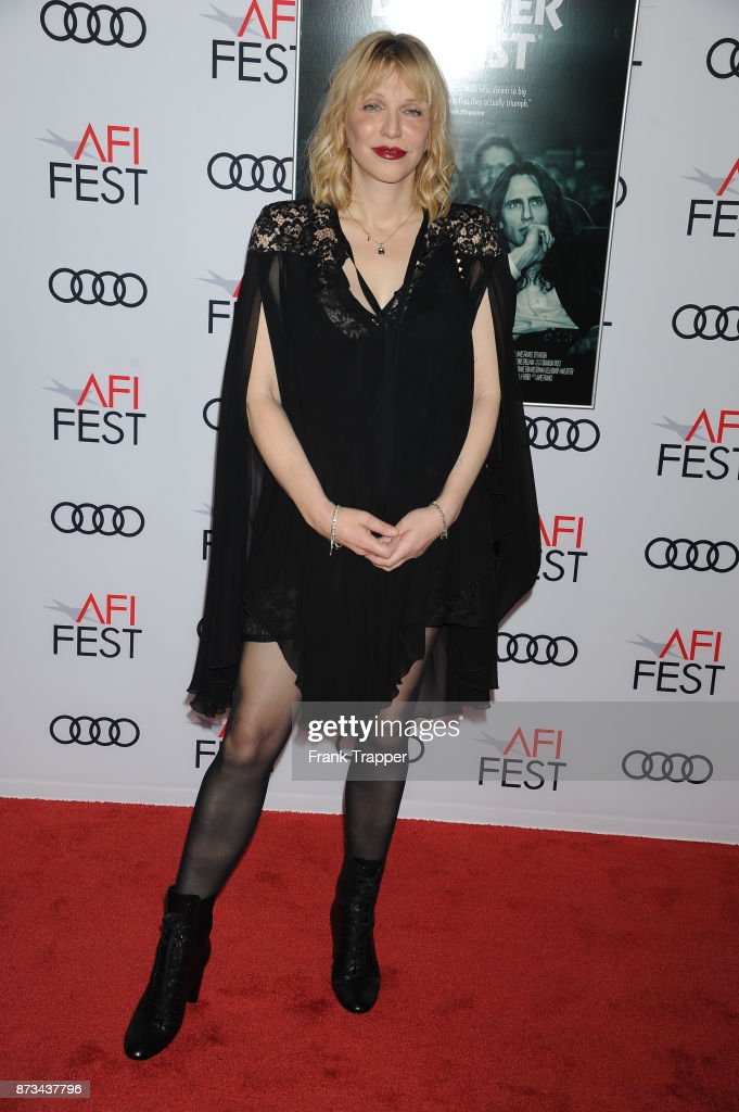 Actress Courtney Love attends the screening of 'The Disaster Artist ' at AFI FEST 2017 presented by Audi at TCL Chinese Theatre on November 12, 2017 in Hollywood, California.