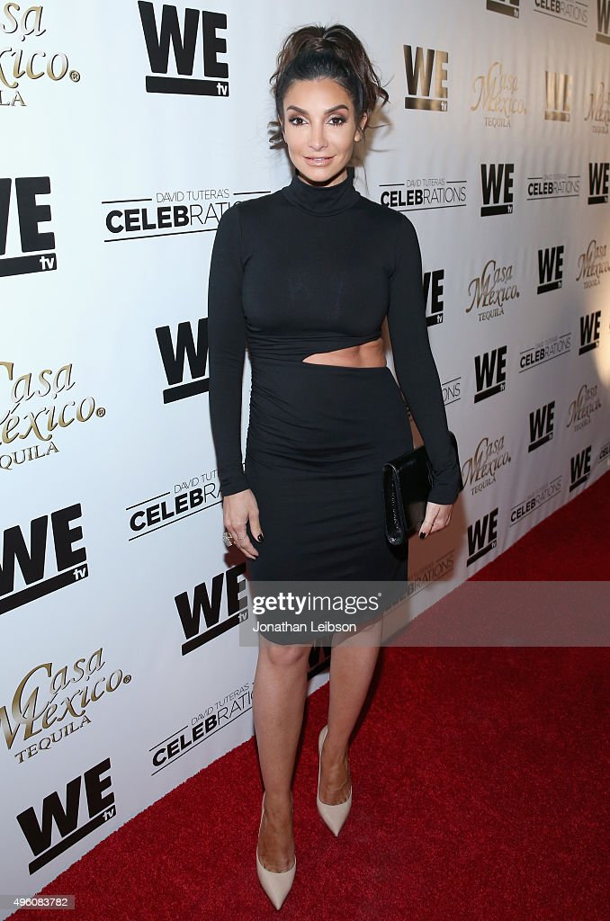Actress Courtney Mazza attends the launch of WE tv's David Tutera CELEBrations and Casa Mexico Tequila on November 6, 2015 in Hollywood, California.