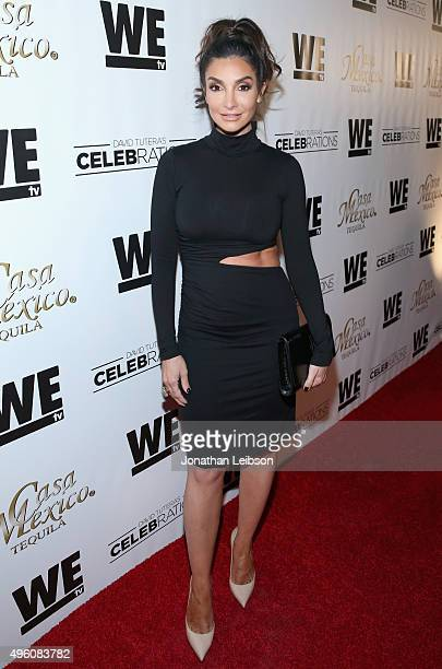 Actress Courtney Mazza attends the launch of WE tv's David Tutera CELEBrations and Casa Mexico Tequila on November 6 2015 in Hollywood California