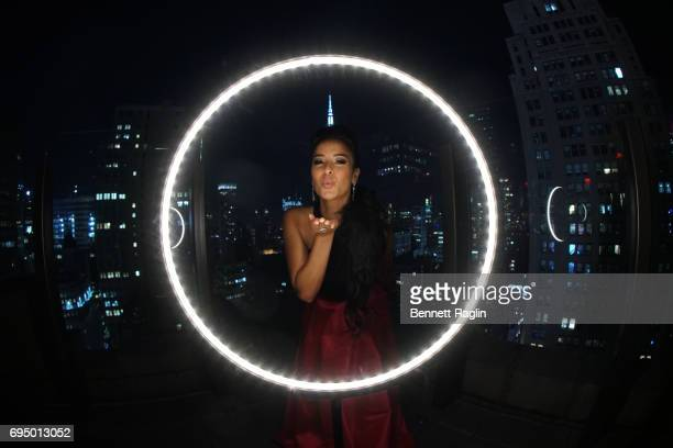 Actress Courtney Reed poses for a photo as passionate Broadway actors and actresses and social media influencers come together for the Official Tony...