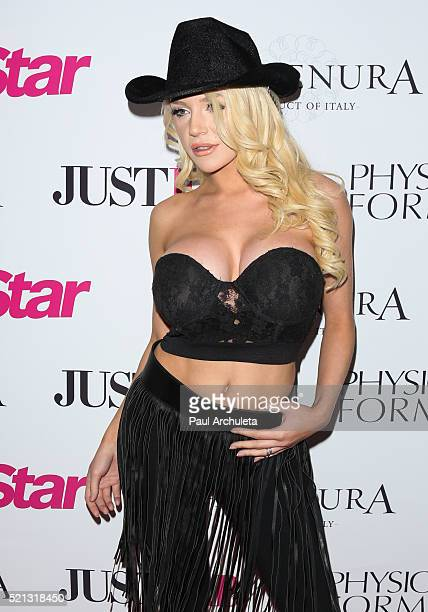 Actress Courtney Stodden attends Star Magazine's 2016 Hollywood Rocks event at Le Jardin on April 14 2016 in Hollywood California