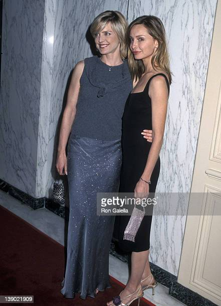 Actress Courtney Thorne-Smith and actress Calista Flockhart attend A Family Celebration Second Annual Gala on April 1, 2001 at Beverly Wilshire Hotel...