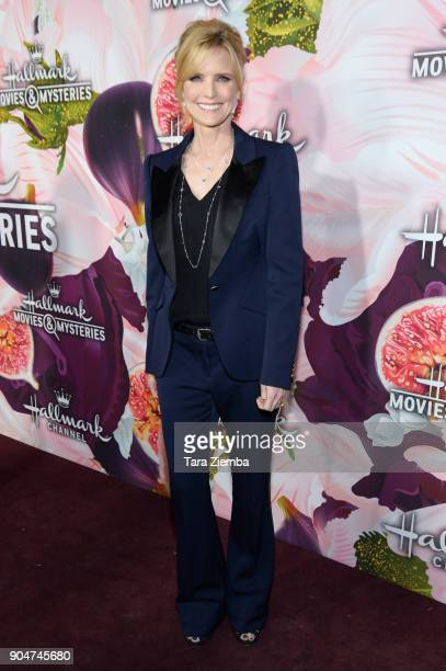 Actress Courtney ThorneSmith attends Hallmark Channel and Hallmark Movies and Mysteries Winter 2018 TCA Press Tour at Tournament House on January 13...