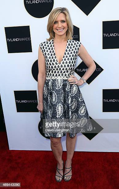 Actress Courtney ThorneSmith attends the 2015 TV Land Awards at the Saban Theatre on April 11 2015 in Beverly Hills California
