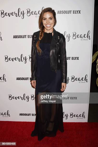 Actress Courtney Turk attends the Dorit Kemsley Hosts Preview Event For Beverly Beach By Dorit at the Trunk Club on October 21 2017 in Culver City...