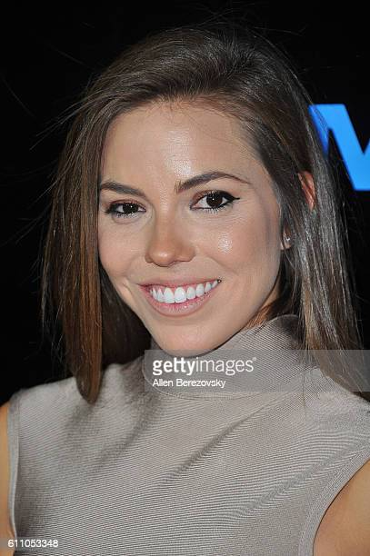 Actress Courtney Turk attends the Premiere of IMAX's Voyage of Time The IMAX Experience at California Science Center on September 28 2016 in Los...